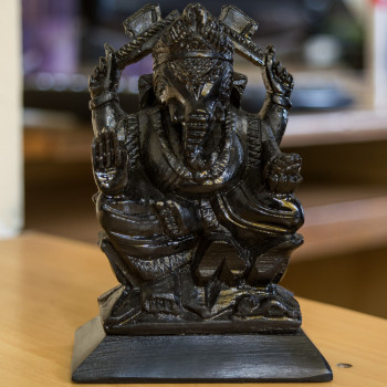 Handmade Ganesh Idol made from Soapstone