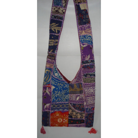 Rajasthani Embroidery Cotton Bag for Girls