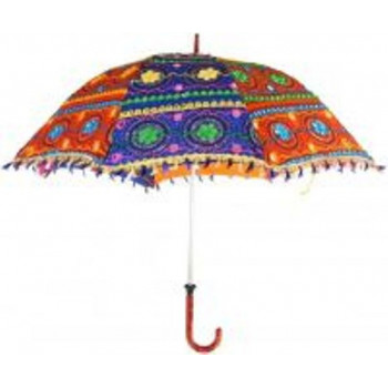 Indian Handmade Cotton Ethnic Umbrella