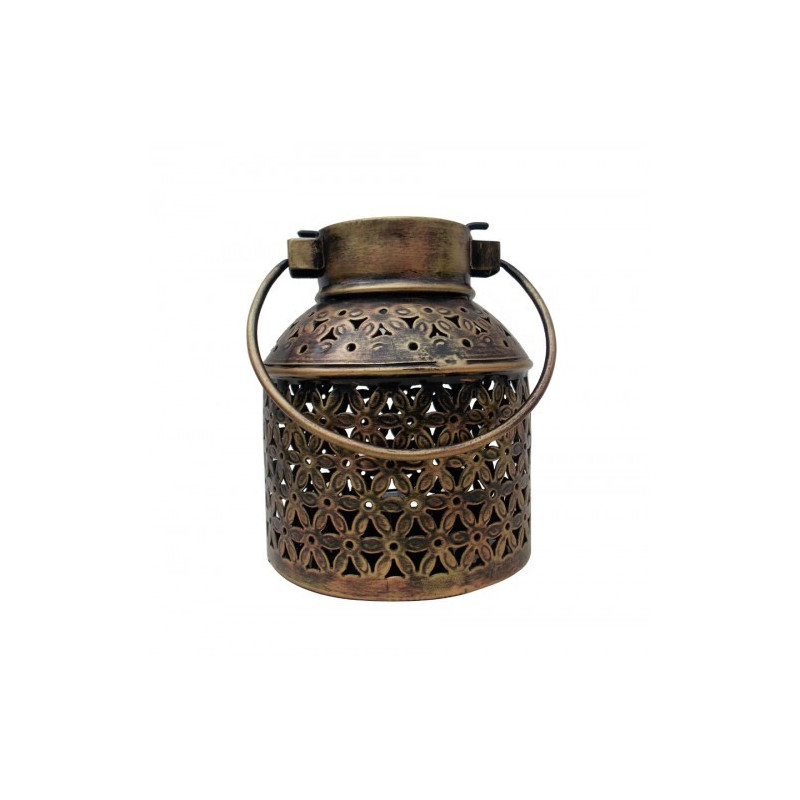 Antique Style METAL MILK CAN TEA LIGHT HOLDER
